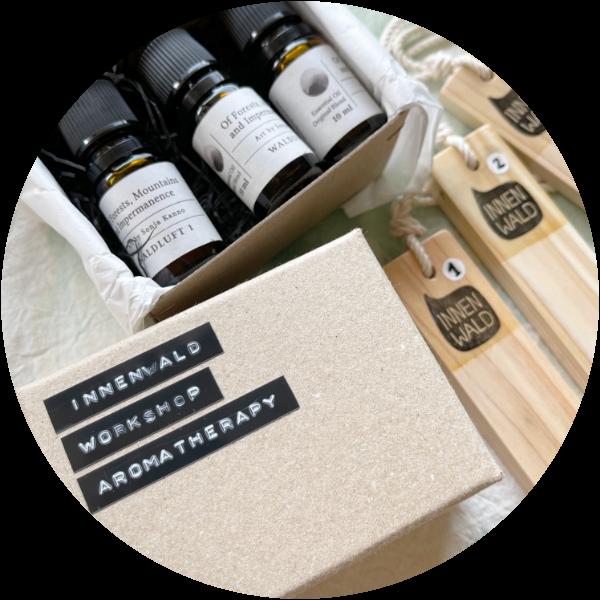 Original aroma oil blends for Indoor Forest Bathing