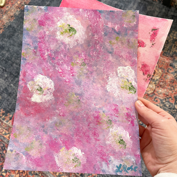 Sakura Senses, captured by one of the workshop participants