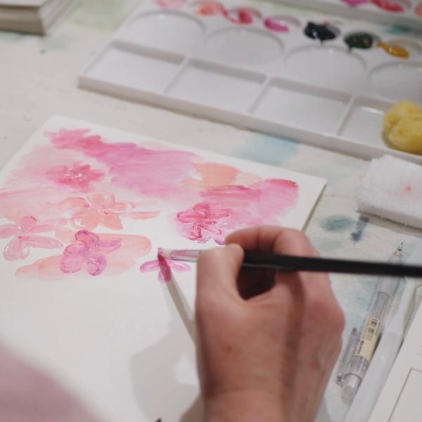 Painting Sakura