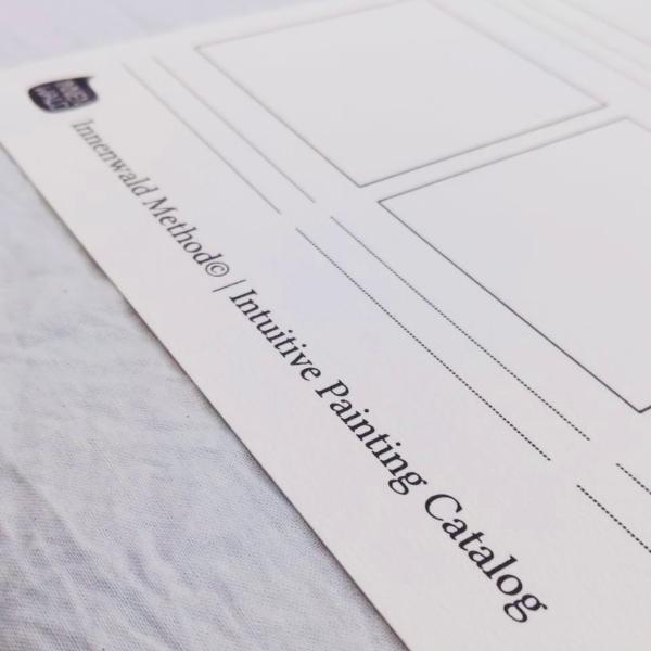 Innenwald Method© Intuitive Painting Catalog Worksheet