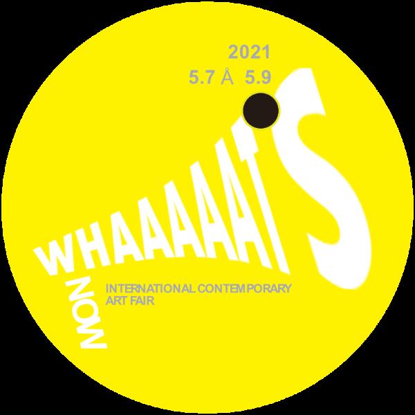 WHAAAAAT'S International Contemporary Art Fair Logo